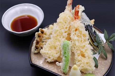 信天ぷら盛り合せ